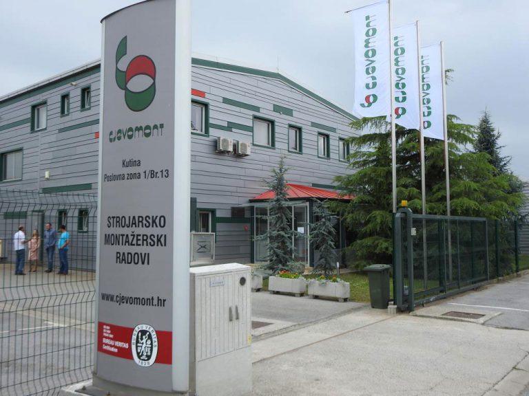Cjevomont, Kutina, KIND, ILZ, Industrijsko logistička zona Kutina
