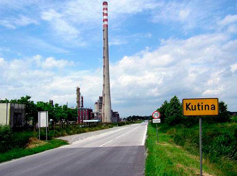 Kutina, Petrokemija, Industrijsko logistička zona,
