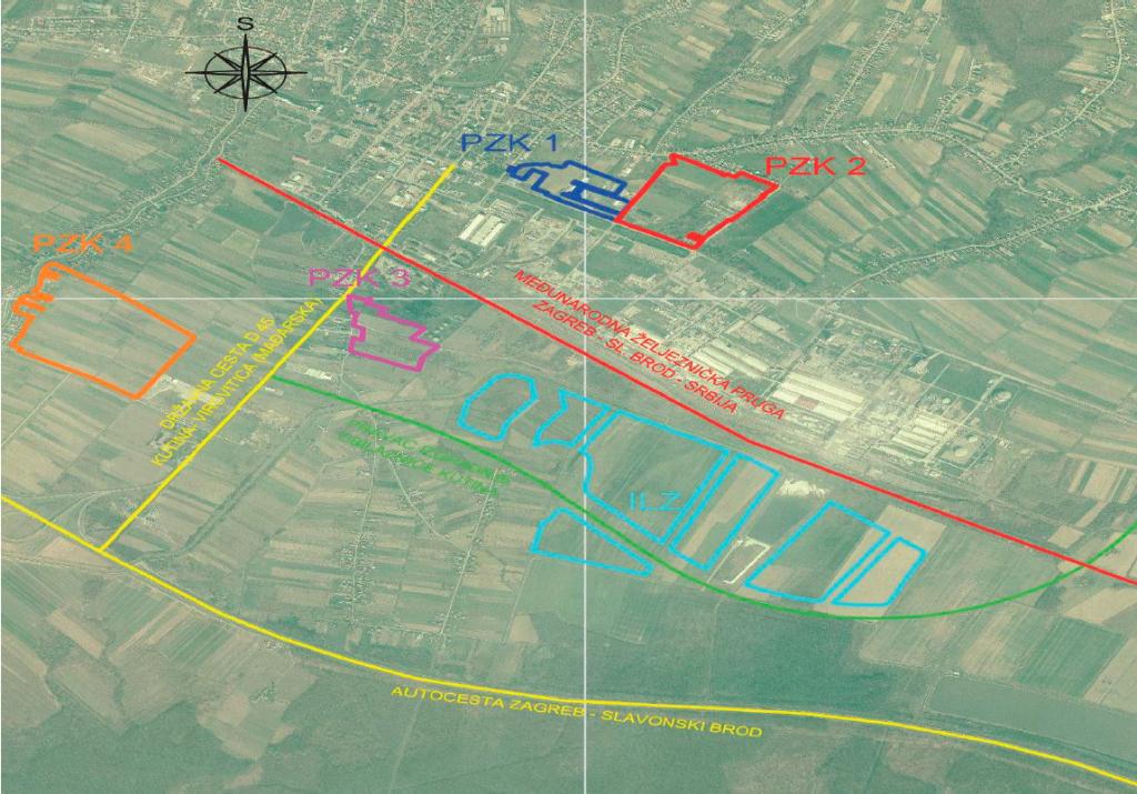 Poslovna zona, Kutina, Industrijsko logistička zona, ILZ, KIND