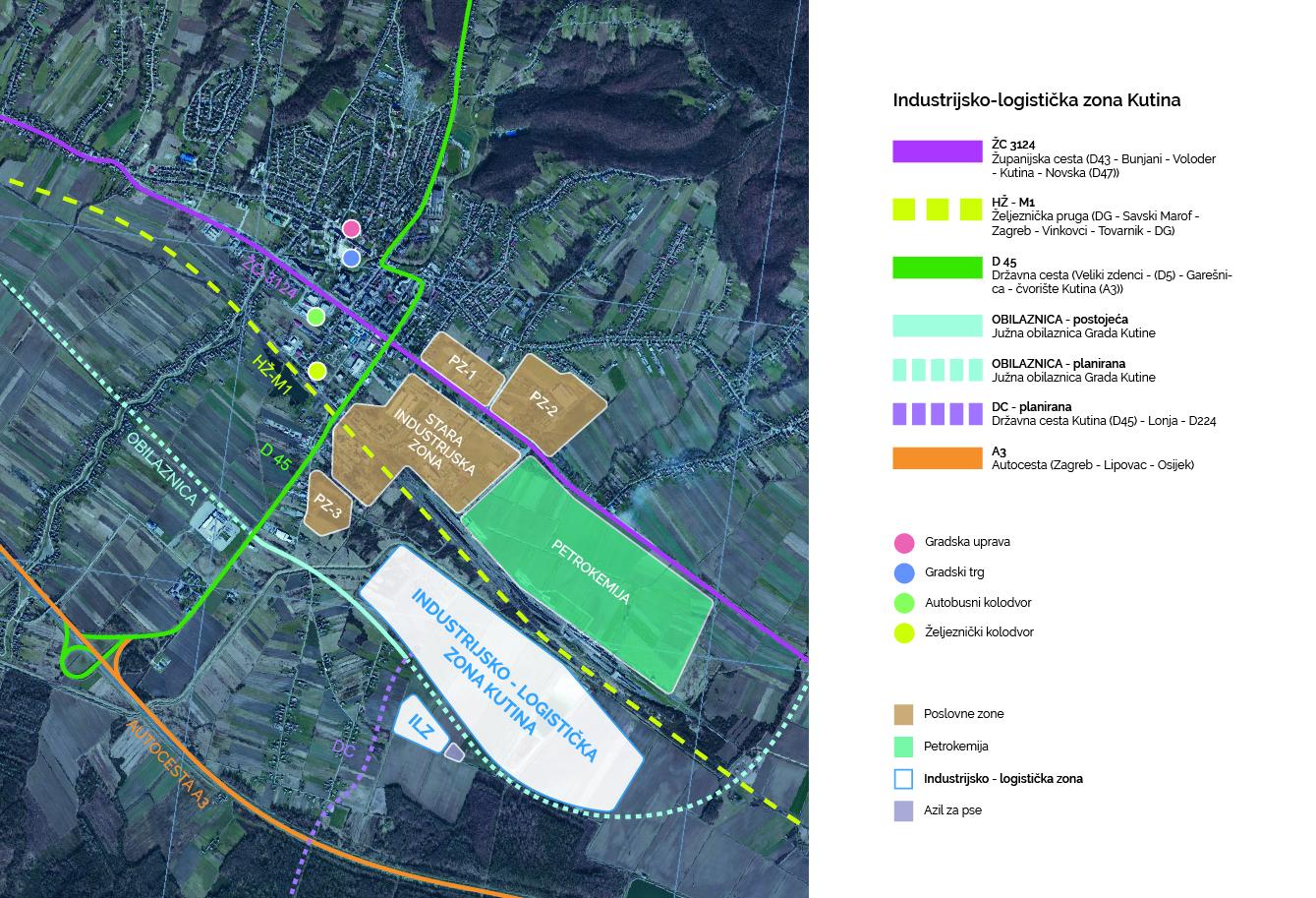 Kutina, Grad Kutina, Industrijsko Logistička Zona, ILZ, KIND
