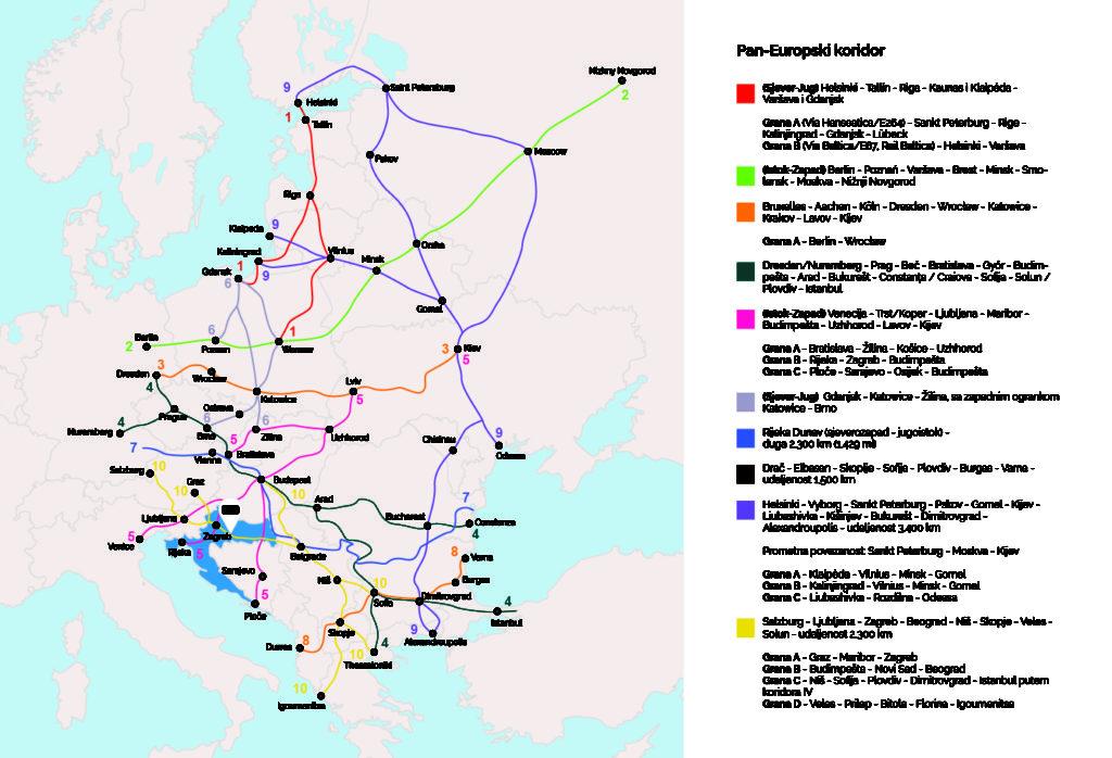 Pan-Europski koridor, Grad Kutina, Industrijsko logistička zona Kutina, ILZ, KIND